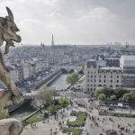 Gargoyle overlooking Paris.